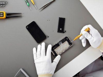 تعمیر و تعویض باتری گوشی