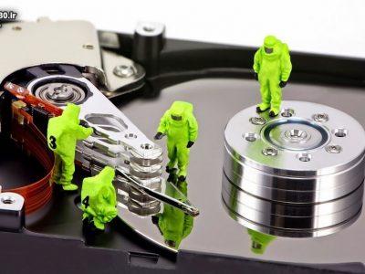 ۵ نشانه خرابی هارد دیسک و حافظه داخلی
