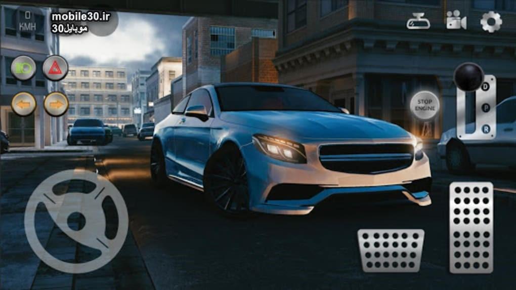 بازی Real Car Parking 2 نصب بر روی موبایل
